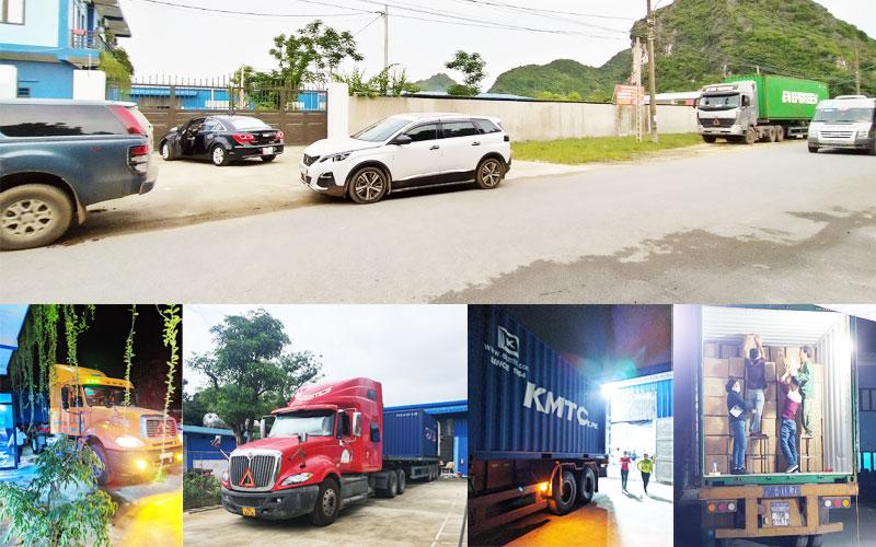 Công ty may balo túi xách xuât khẩu Vinh Quang